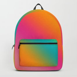 Blended Rainbow Time To Feel Good Backpack