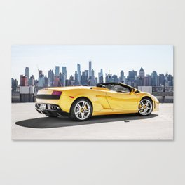 Gallardo x Skyline Canvas Print