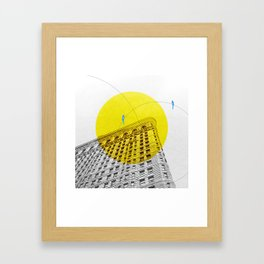 Flatiron building Framed Art Print