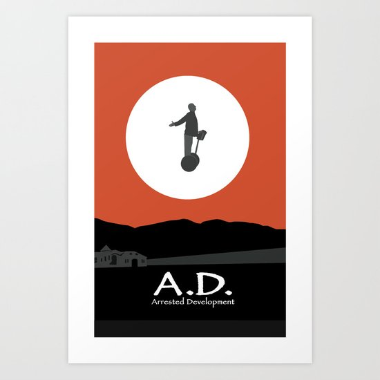 Arrested Development Art Print
