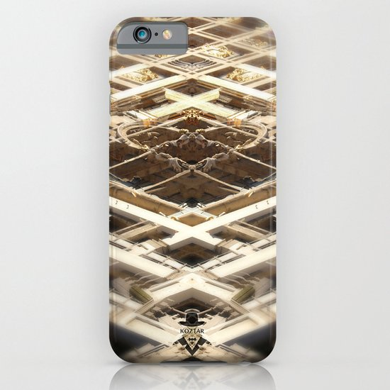 grand place brussels rorschach symmetry caleidoscope mirror 24101 iPhone & iPod Case