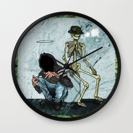 UNDERWVRLD Wall Clock