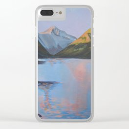 Still sunset over Wastwater Clear iPhone Case
