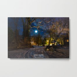 New Hope - Pennsylvania. Metal Print