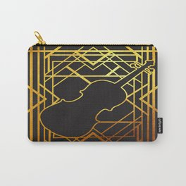 Art Deco Violin Carry-All Pouch