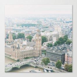 London Skyline Travel Photography Canvas Print