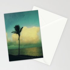 sunset solo Stationery Cards
