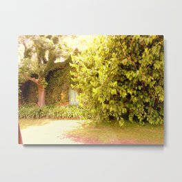 The Garden Door Metal Print