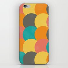 Bright Decaying Scales iPhone Skin
