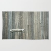 arrow Area & Throw Rugs featuring Arrow by TMCdesigns