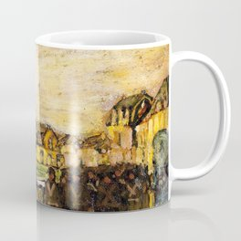 African American Masterpiece 'War Scene - Etaples, France, 1914' by Henry Ossawa Tanner Coffee Mug