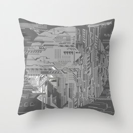 systems Throw Pillow