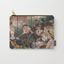 IT's Pennywise in Luncheon of the Boating Party Carry-All Pouch