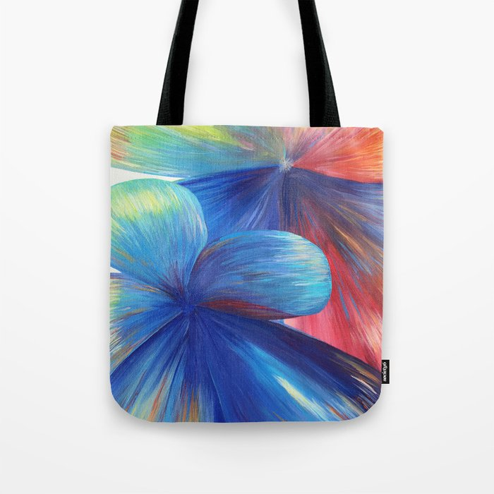 Flowers are Love Tote Bag