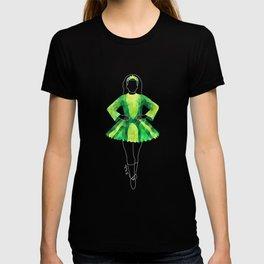 Irish Dancer green T-shirt