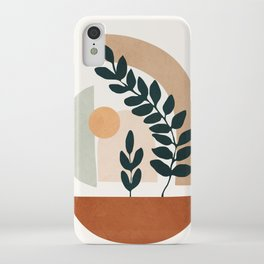 Soft Shapes III iPhone Case
