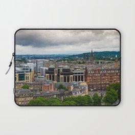 Panoramic of Edinburgh Laptop Sleeve