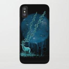 DNA Deer iPhone Case