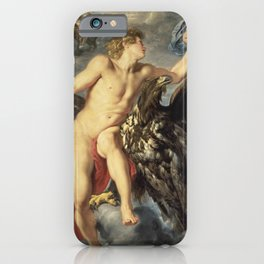 Peter Paul Rubens - The Kidnapping Of Ganymede iPhone Case