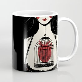 Heart in a cage Coffee Mug