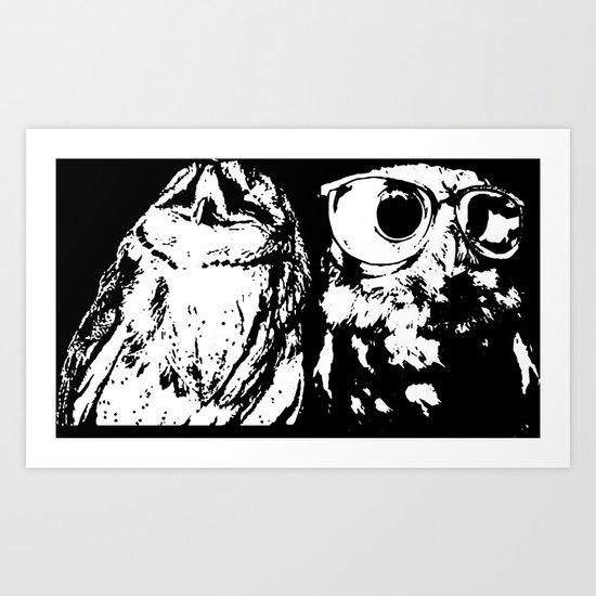 Wise Guys Art Print