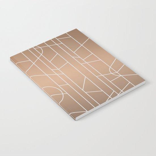 Patternbronze #3 Notebook
