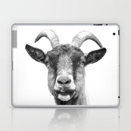 Black and White Goat Laptop & iPad Skin