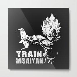 Vegeta Train Insaiyan Metal Print