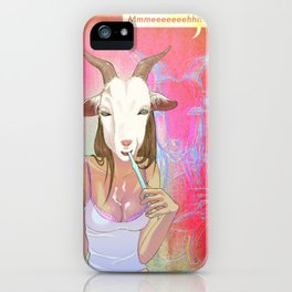 Hanging the Goat Head iPhone Case