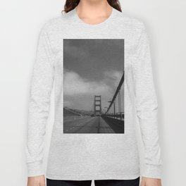 On The Golden Gate Bridge Long Sleeve T-shirt