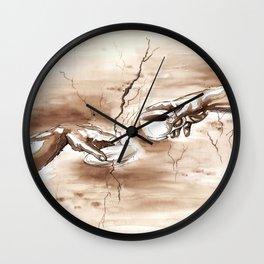 The Creation of Coffee Wall Clock