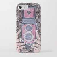 photographer iPhone & iPod Cases featuring Photographer by mojekris