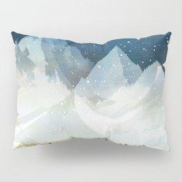 Mountain Lake Under the Starlight Pillow Sham