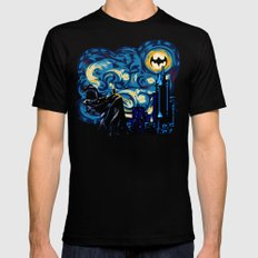 Starry Knight iPhone 4 4s 5 5c 6, pillow case, mugs and tshirt LARGE Black Mens Fitted Tee