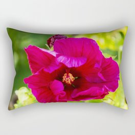 Jazzberry Jam Hibiscus Rectangular Pillow