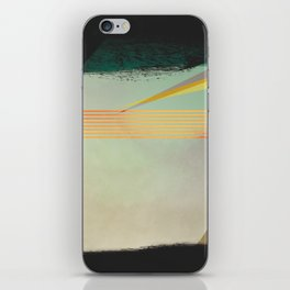 go away, black clouds iPhone Skin