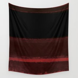 1958 Four Darks on Red by Mark Rothko Wall Tapestry