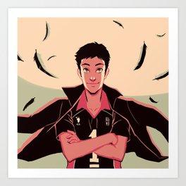 o captain my captain Art Print