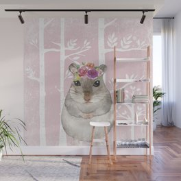Animals in Forest - The little Hamster Wall Mural