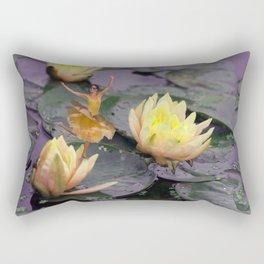 tinker bell & tiger lilies Rectangular Pillow