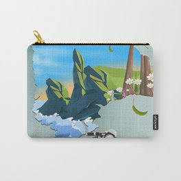 Devon England map Carry-All Pouch