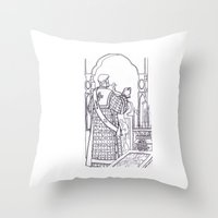 christian Throw Pillows featuring Christian service by Shelby Claire