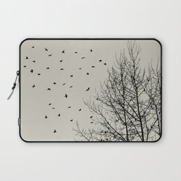 Come On Home - Graphic Birds Series, Plain - Modern Home Decor Laptop Sleeve