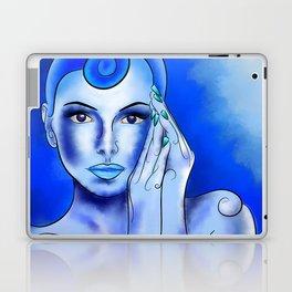 Jewellisina V1 - blue treasure Laptop & iPad Skin