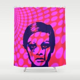 Iconic Twiggy Shower Curtain
