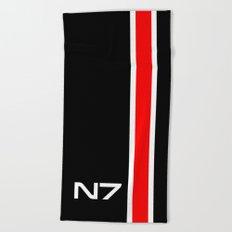 n7 Beach Towel