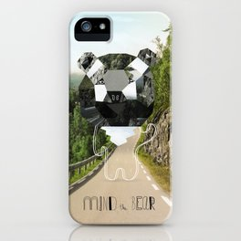 Mind the Bear! iPhone Case