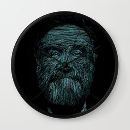 Williams by Blake Byers Wall Clock