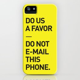 Save the planet. iPhone Case