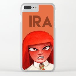 Inside Out: Ira Clear iPhone Case